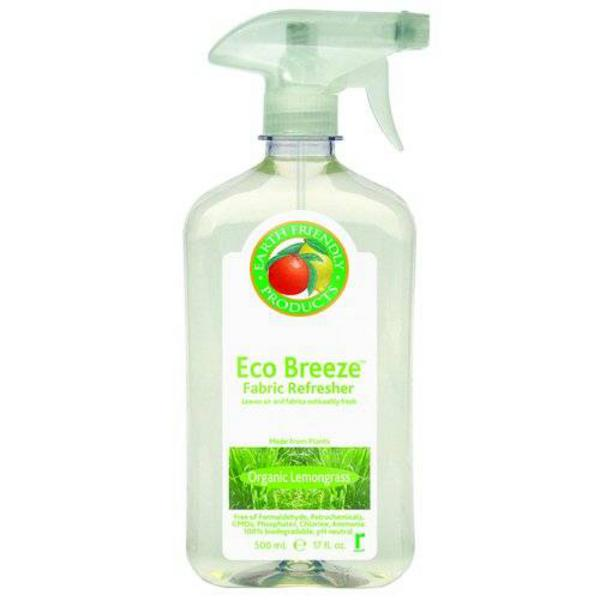 Lemongrass Fabric Refresher Eco Breeze Remover GMO free