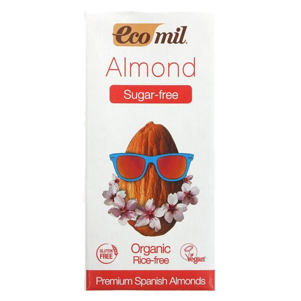 Nature Almond Milk no sugar added, ORGANIC