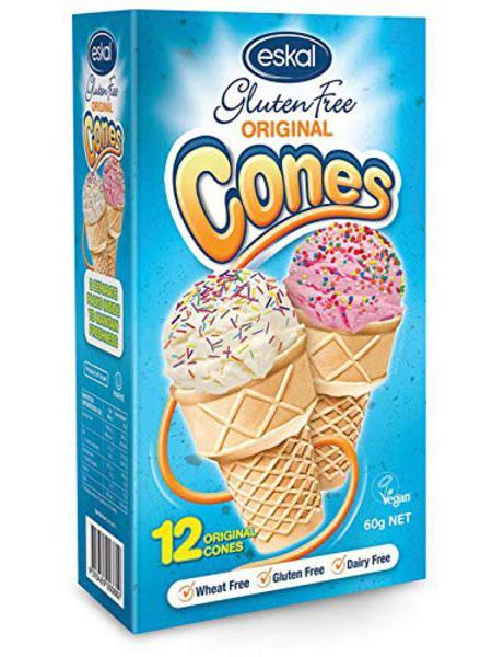 Ice Cream Cones dairy free, Gluten Free