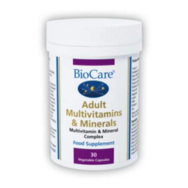 Adult Multivitamin & Minerals Supplement Vegan
