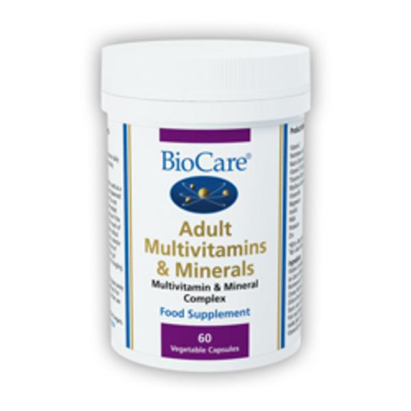 Adult Multi-Vitamin & Minerals Supplement Vegan