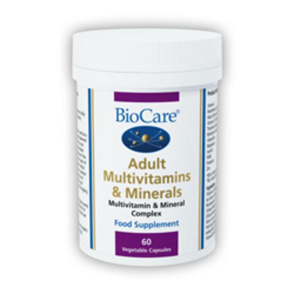 Adult Multi-Vitamin & Minerals Supplement Vegan