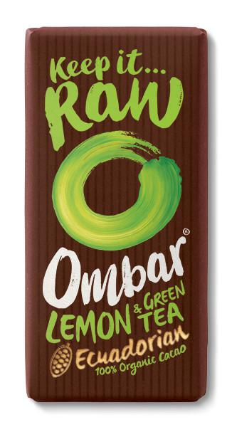 Lemon & Green Tea Raw Chocolate ORGANIC