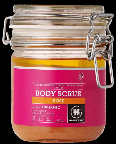 Rose & Himalaya Salt Body Scrub ORGANIC