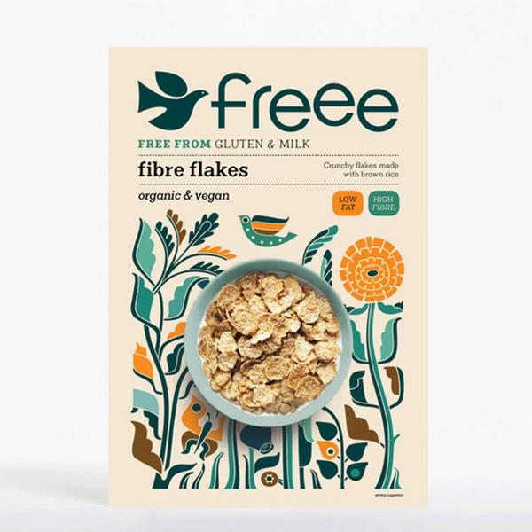 Fibre Flakes Cereal Gluten Free, ORGANIC