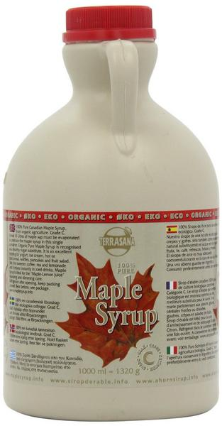 Maple Syrup In Plastic Jug ORGANIC