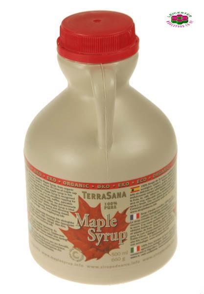 Maple Syrup In Plastic Jug Vegan, ORGANIC