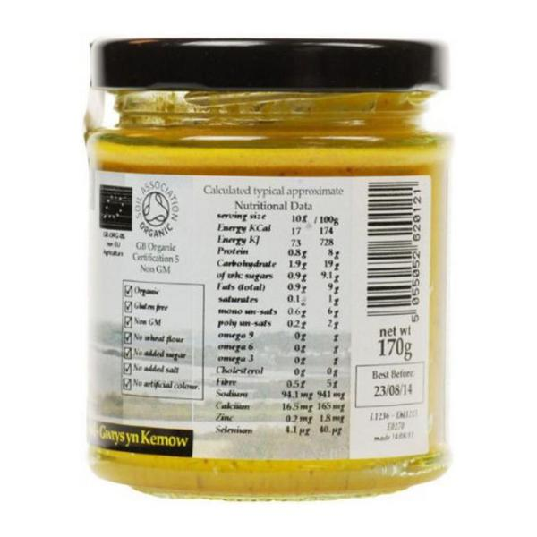 English Mustard no added salt, no added sugar, ORGANIC image 2