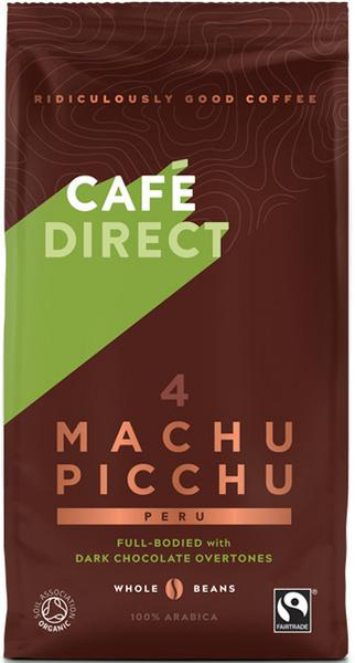 Machu Picchu Gourmet Coffee Beans Peru FairTrade, ORGANIC