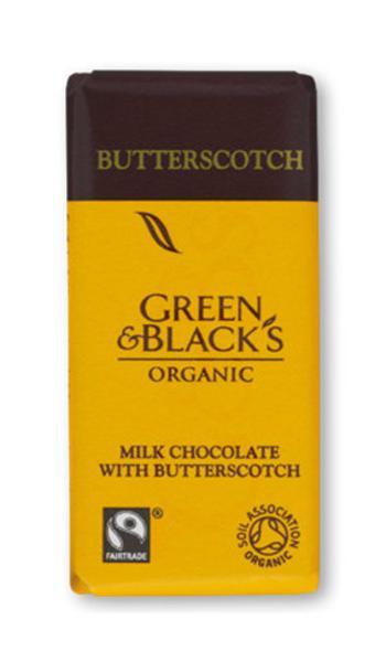 Butterscotch Chocolate FairTrade, ORGANIC