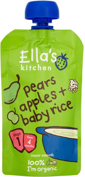 Pear,Apple & Rice Baby Food ORGANIC