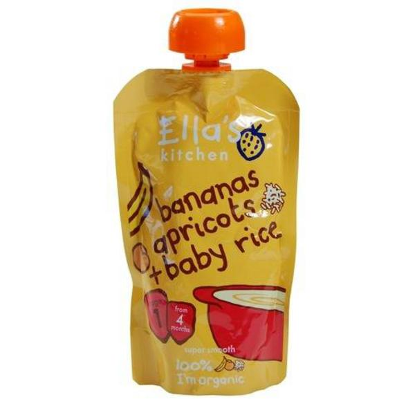 Banana,Apricot & Rice Baby Food ORGANIC