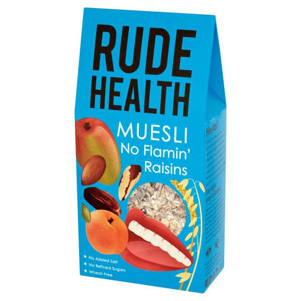 No Flamin' Raisins Muesli wheat free