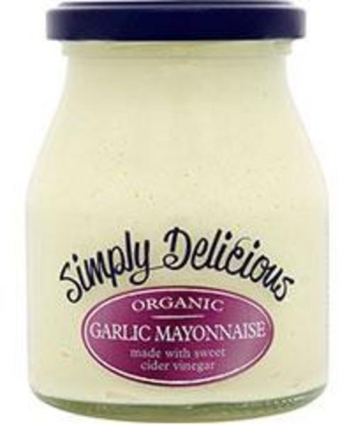 Garlic Mayonnaise Gluten Free, ORGANIC