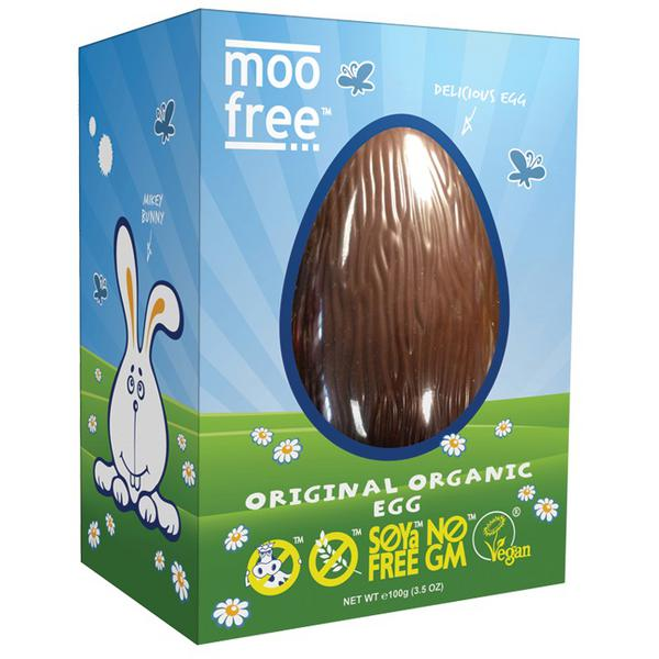 Alternative to Milk Chocolate Easter Egg Gluten Free, Vegan, ORGANIC