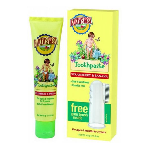 Earth's Best Toddler Strawberry & Banana Toothpaste