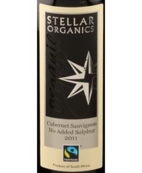 Red Wine Cabernet Sauvignon South Africa No Added Sulphur 13% Vegan, FairTrade, ORGANIC image 2