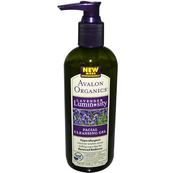 Lavender Facial Cleansing Gel ORGANIC