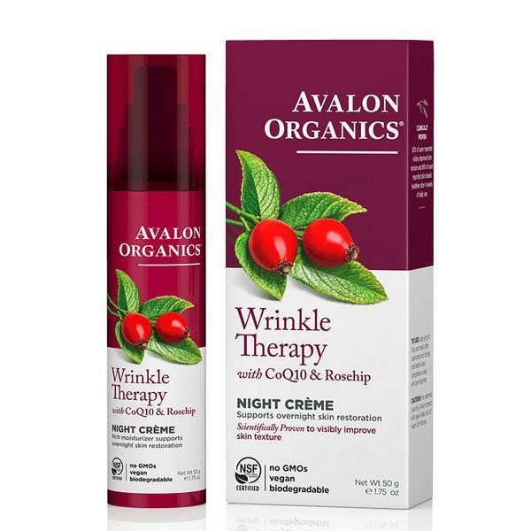 Wrinkle Defense Co Q10 Night Cream Vegan, ORGANIC