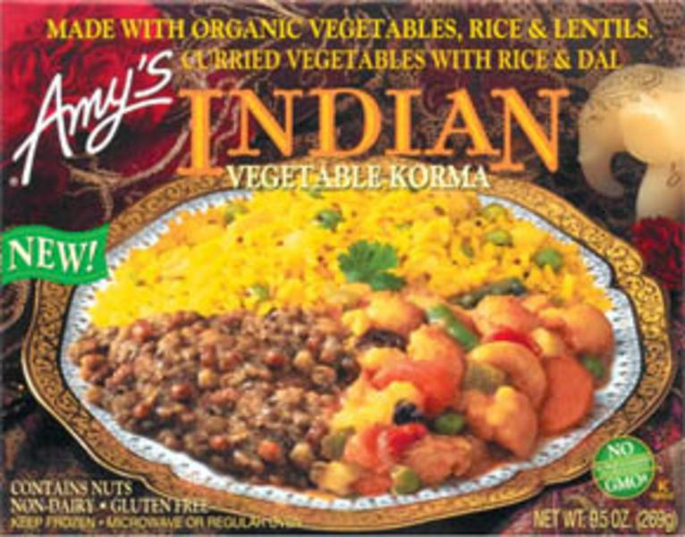 Korma Vegetable Ready Meal Gluten Free, Vegan