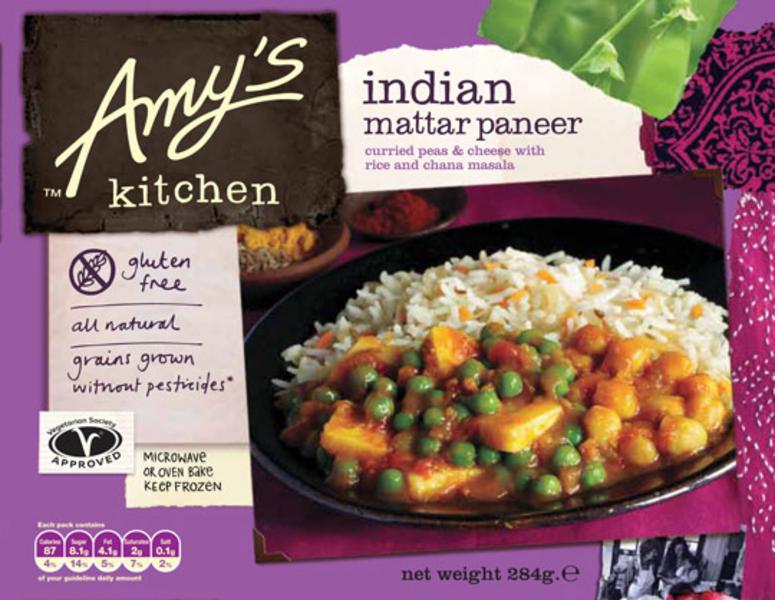 Indian Mattar Paneer Meal Gluten Free