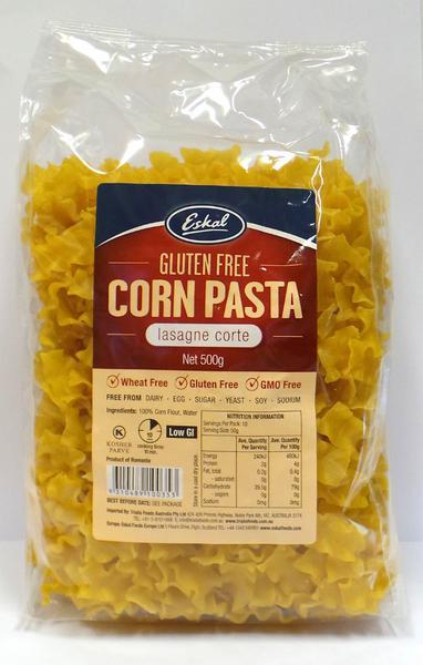 Lasagne Corte Corn Pasta Gluten Free
