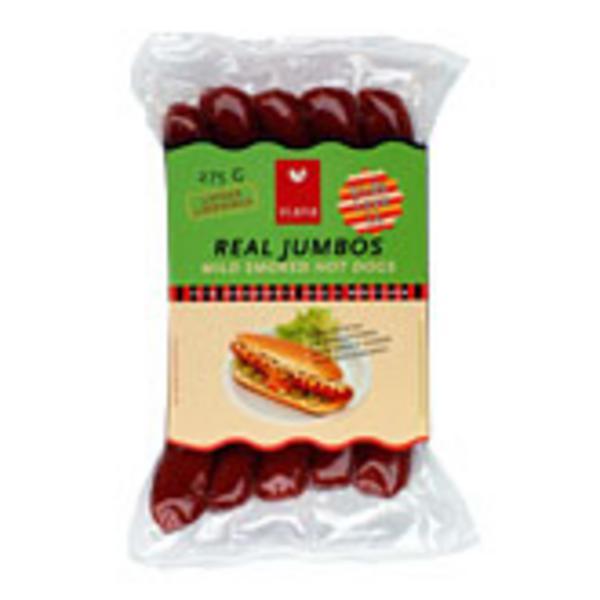 Real Jumbo Vegetarian Sausages ORGANIC