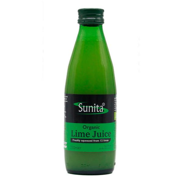 Organic Lime Juice in 250ml from Sunita
