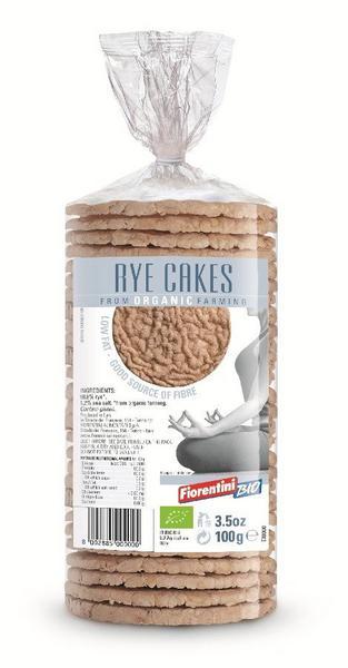 99% Rye Puffed Crackers ORGANIC