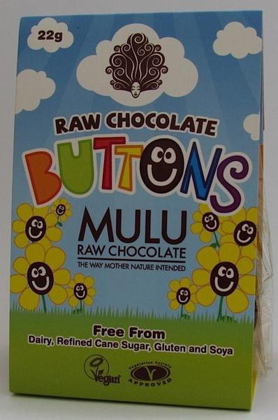 Raw Chocolate Buttons Gluten Free, Vegan