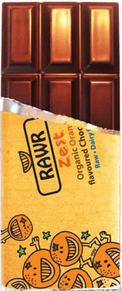 Zest Raw Chocolate Gluten Free, Vegan, ORGANIC