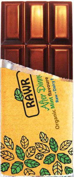 After Dinner Mint Raw Chocolate Gluten Free, Vegan, ORGANIC
