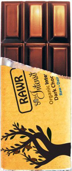 Intensity Raw Chocolate Gluten Free, Vegan, ORGANIC