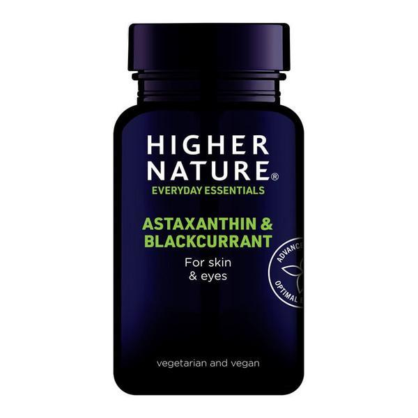 Astaxanthin & Blackcurrant Supplement Vegan
