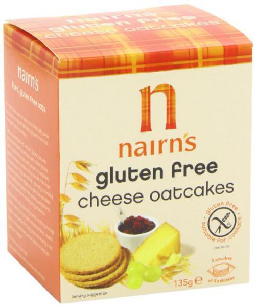 Cheese Oatcakes Gluten Free