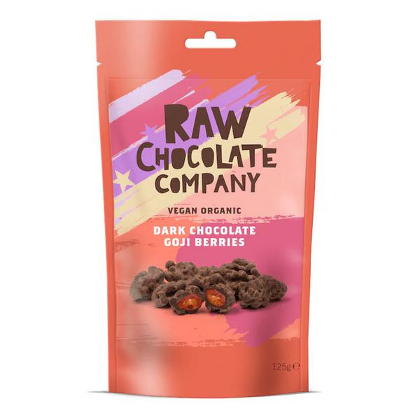 Raw Chocolate Coated Goji Berries Vegan, FairTrade, ORGANIC