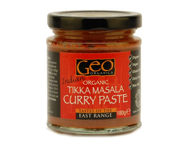 Tikka Masala Curry Paste Vegan, ORGANIC