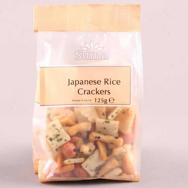Japanese Rice Crackers Vegan