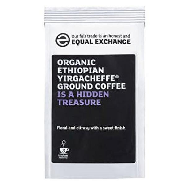 Ethiopian Yirgacheffe Coffee FairTrade, ORGANIC