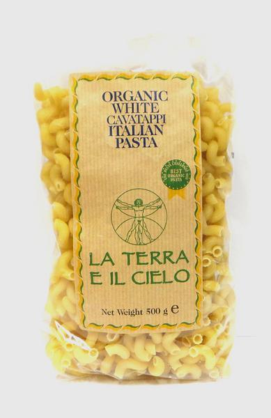White Cavatappi Twists Pasta ORGANIC