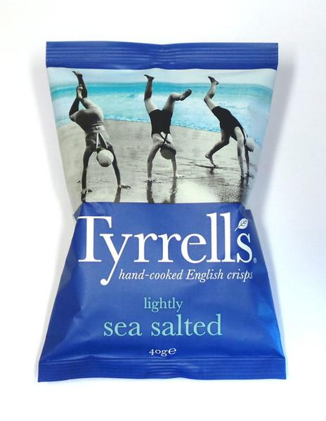 Lightly Sea Salted Potato Chips Gluten Free, Vegan