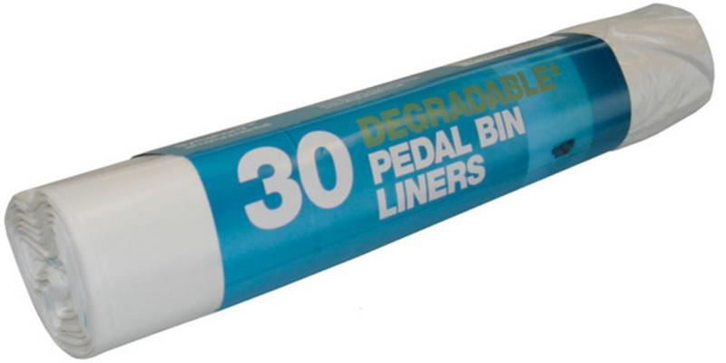 Pedal Bin Liner Refuse Sacks 100% Degradeable Vegan