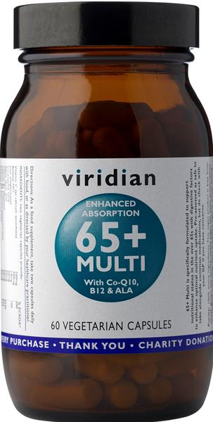 65+ Multi Vitamins two a day