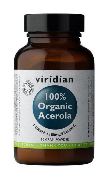 Acerola & Vitamin C Supplement Powder ORGANIC