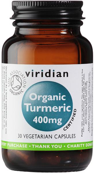 Turmeric Supplement 400mg ORGANIC