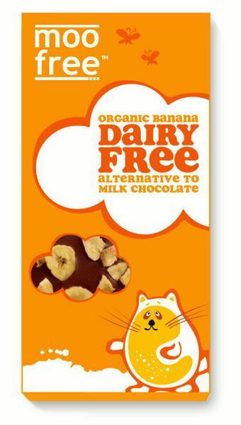 Banana Alternative to Milk Chocolate Gluten Free, Vegan, ORGANIC