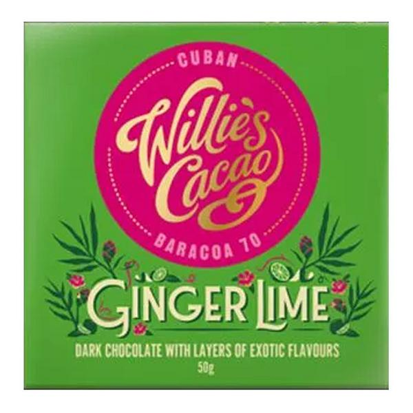 Ginger & Lime Dark Chocolate Sierra Leone 70 Vegan