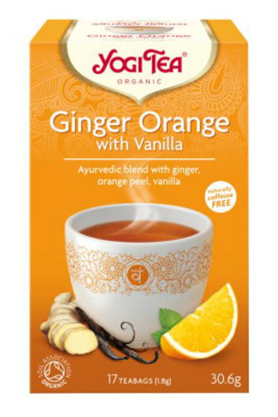 Ginger Orange with Vanilla T-Bags ORGANIC