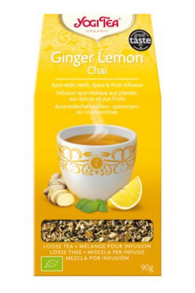 Ginger Lemon Chai Tea Leaves ORGANIC