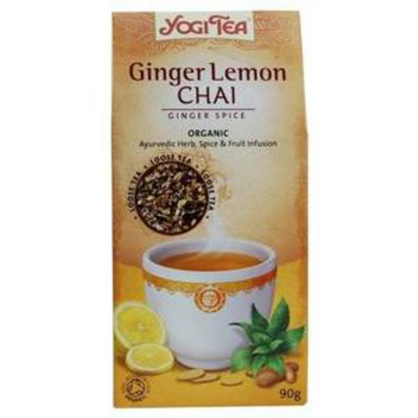 Ginger Lemon Chai Tea Leaves ORGANIC image 2